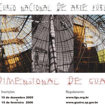 Concurso Nacional de Arte Pública Tridimensional de Guaíra
