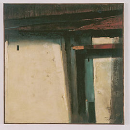 João Rossi, Urbana, 1989 Polimatéria, 80 x 80 cm. (Foto: Del Carmen)