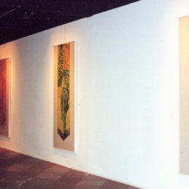 Maria Bonomi, imagem da exposição no MASC, Florianópolis (Foto: Ana Roso)