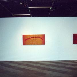 Gilberto Salvador, imagem da exposição no MASC, Florianópolis (Foto: Ana Roso)