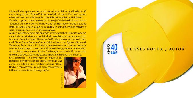 CD Ulisses Rocha / Autor